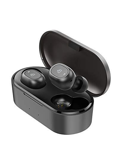 【2020進化版】Bluetooth 5.0 Dudios Zeus Ace イヤホンbluetooth ワイヤレス 完全 ワイヤレス イヤホン 4時間音楽再生 Hi-Fi 高音質 マイク内蔵 左右分離型自動ペアリング 充電式収納ケース付き iPhone/Android適用 (進化版)