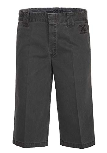 King Kerosin Garage Wear Pantaloncini Bermuda, Nero, 31 Uomo