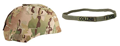 Propper Multicam MICH Helmet Cover with Customized OCP Kevlar Helmet Stretch Band (SMALL/MED)
