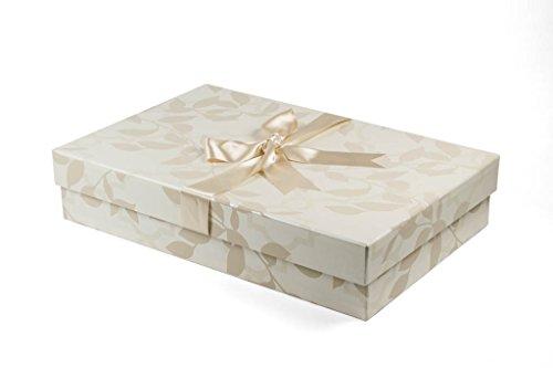 Die Klassische Brautkleidbox, 75cm x 50cm x 15cm, 'FLEUR'