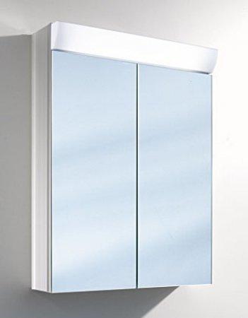 Schneider Aluminium Spiegelschrank WANGALINE 60cm 2-türig
