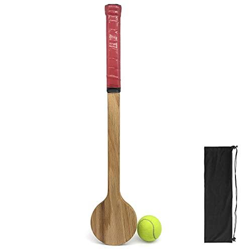 Flytise Juego de raquetas de tenis con pelota de tenis, tenis, precisión y herramienta de entrenamiento