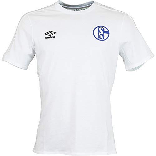 FC Schalke 04 Umbro CVC T-Shirt (XXL, weiß)