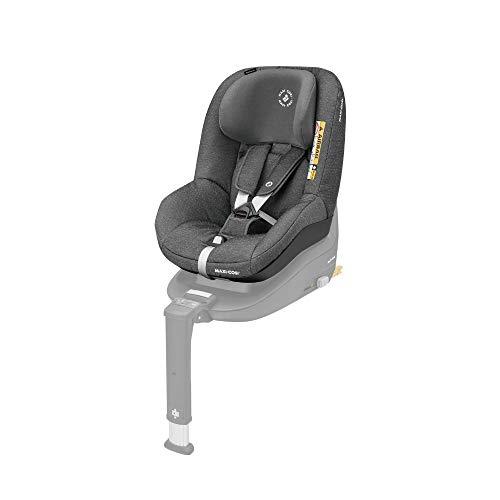 Maxi-Cosi Pearl Smart Kindersitz - rückwärts & vorwärtsgerichtetes Fahren möglich, für ISOFIX-Basis FamilyFix One i-Size, Gruppe 1 (9-18 kg) nutzbar ab 6 Monate - 4 Jahre, Sparkling Grey (grau)
