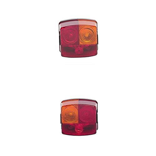 HELLA 2SD 002 776-241 Heckleuchte, rechts, 12V + Heckleuchte, links, 12V
