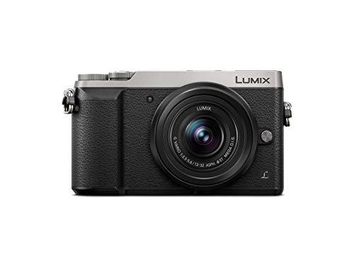 "Panasonic Lumix DMC-GX80 - Cámara Digital de 16 MP, Pantalla Táctil de 3"", 4592 x 3448 Píxeles, 4/3"" Live Mos, 4K Ultra HD, Color Plata (Versión Importada)"