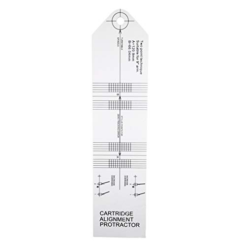 LP Vinilo Pickup Calibración Medidor de Distancia Transportador Grabación Tocadiscos Fonógrafo Cartucho...