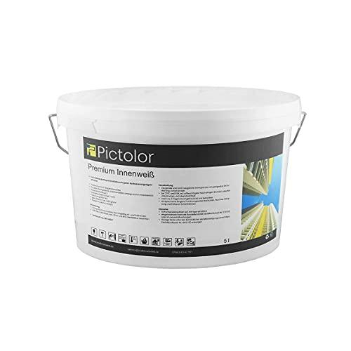 Pictolor Premium Innenweiß 5 Liter Curry