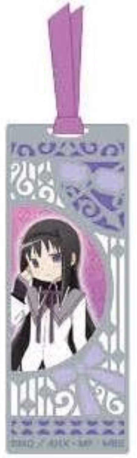 Magical Girl Madoka Magika stained glass wind BOOKMARKS B [Homura] bookmarks bookmark (japan import)