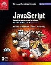 Javascript Complete Concepts & Techniques, 2ND EDITION