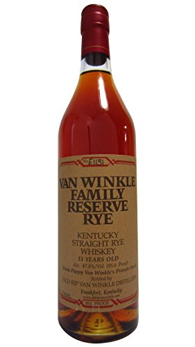 Van Winkle Family Reserve 13 Years Handmade Limited Straight Rye Whiskey