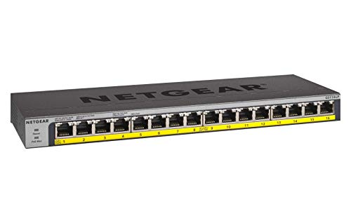 Netgear 16-port Gigabit Ethernet unmanaged switch
