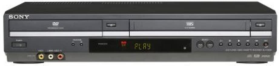 Sony SLV-D380P DVD/VCR Tunerless Progressive Scan DVD/VHS Combo Player (2009 Model), Black (Renewed)