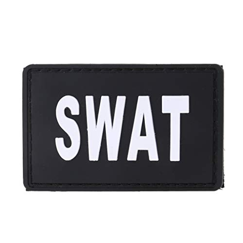 suoryisrty Militärische Taktische Armband PVC Gummi Moral Patch Hut Abzeichen Haken Brassard Emblem 27#
