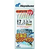 ハヤブサ(Hayabusa) 一押しサビキ 北海道ニシン・イワシ 6本鈎 7-2 HS434-7-2