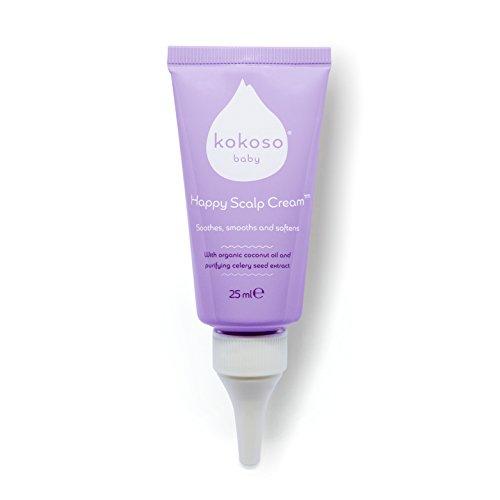 Kokoso Baby Happy Scalp Cream - Safe, Natural, Effective Scalp Treatment...