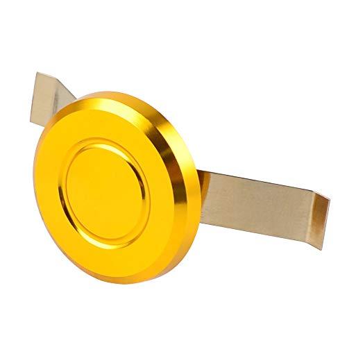 Jiewei Premium Quality Dirección de tapa de tallo cubierta para su.zu.ki rm rmz 450 rmx ho.n.da cr crf ka.wa.sa.ki kx ya.ma.ha wr yz 125 250 250f 450f hus.qva.rna b.m.w Para estrenar (Color : Gold)