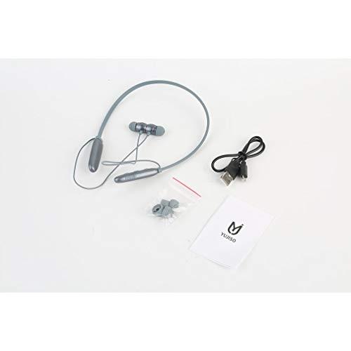 FOY Auriculares Deportivos Subwoofer Auriculares inalámbricos para Colgar en el Cuello Verde Claro
