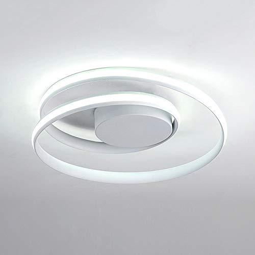 Creativo Lámpara de techo Moderno LED Plafón 50W Regulable Interruptor pared Aluminio...