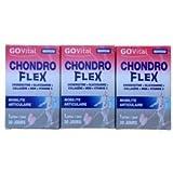 Urgo GOVital - Chondro Flex chondroitine glucosamine collagène MSM Vit C - TROIS MOIS DE TRAITEMENT - Lot de 3 boites