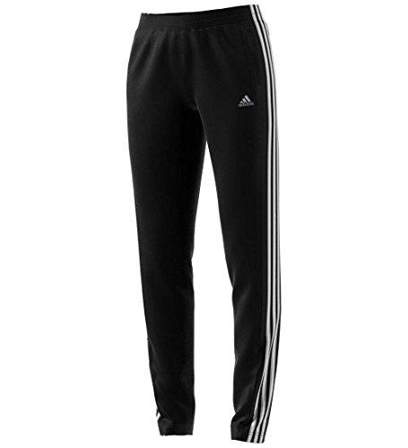 adidas Women's T10 Pants, Black/White, L