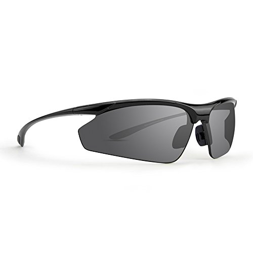 Epoch 6 Golf Sport Sunglasses Black Frame with Smoke Lens