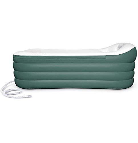 Aufblasbare Badewanne für Erwachsenen - Neue verbesserte Version, größe 255 Liter, neues Model & viel stärkerer Reißverschluss