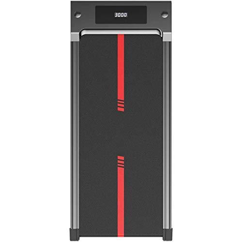 WGFGXQ Tapis roulant Elettrico, Tapis roulant ad Assorbimento degli Urti, Tapis roulant con Display a LED telecomandato, Tapis roulant