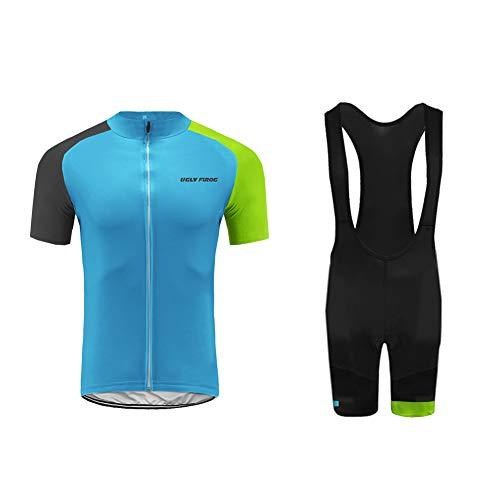Uglyfrog Designs Abbigliamento Ciclismo Donna Ciclismo Maglia Traspirante Asciugatura Veloce Bicicletta Corto Manica Camicia/Bib Pantaloncini Body