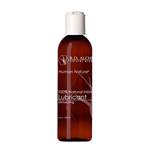 100% Natural & Organic Water and Aloe Based Lube. Better Than Coconut Oil and Silicone Free Personal and Intimate Lubricant for Women and Men. - Stimulating for Enhanced Pleasure.