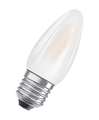 OSRAM Lot de 10 Ampoules LED | Culot E27 | Blanc chaud | 2700 K | 2,50 W équivalent 25 W | LED Retrofit | Forme flamme