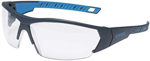 Uvex uvex9194175 i-works safety glasses, blue / clear