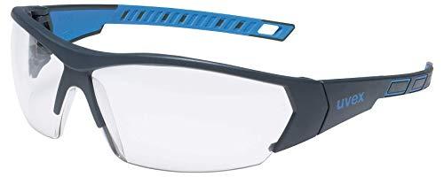uvex i-Works Schutzbrille 9194 - Kratzfest & Beschlagfrei, 100% UV-400-Schutz - Sicherheitsbrille mit Klarer Scheibe - Arbeitsbrille mit Antibeschlag- und Antikratz-Beschichtung
