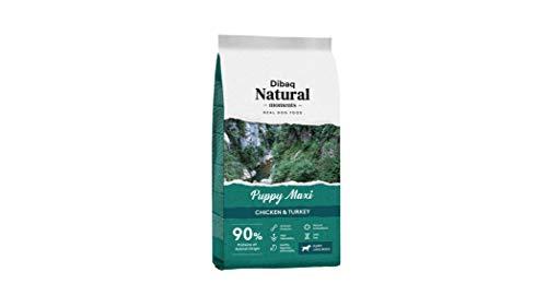 DIBAQ NATURAL MOMENTS Puppy Maxi. Pienso Natural para Perros Cachorros y Madres de Razas Grandes. 15 Kg.