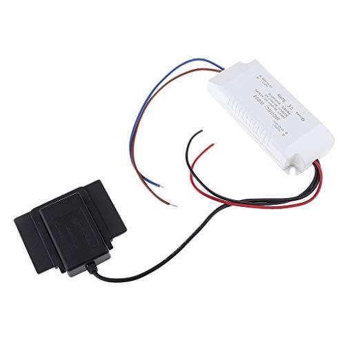 Interruptor Táctil Sensor de Lámpara de Escritorio Repuestos de Reparación 90-240V AC, Luz Azul y Rojo