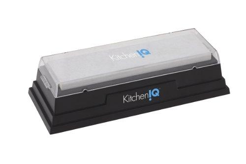 KitchenIQ 50078 Natürlicher Arkansas Schleifstein