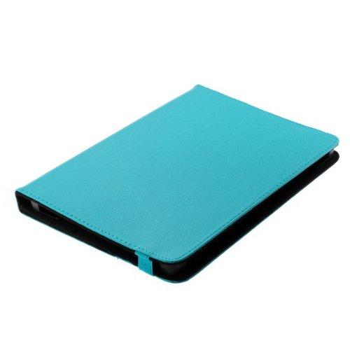Bookstyle Tablet PC Tasche Etui Hülle Book Hülle hellblau mit Standfunktion passend für Asus Vivo Tab Smart ME400CL
