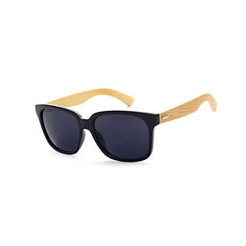 KCJKXC Zonnebril met bamboecoating, voor mannen, houten bril voor dames, merkontwerpers, hout