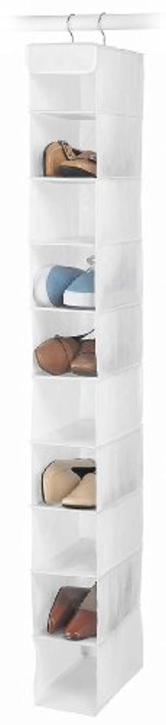 Whitmor Hanging Shoe Shelves 10 Section White ynsjcx3894923