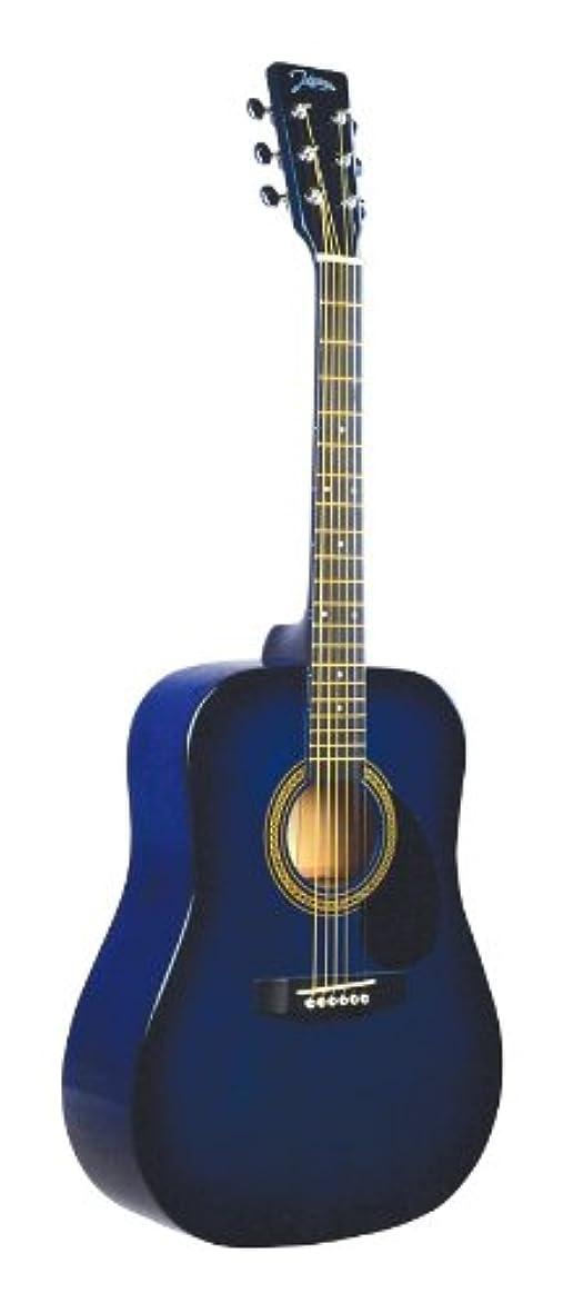 パーツ形状雪Johnson ジョンソン JG-610-BL-3/4 610 Player Series 3/4 Size アコースティックギター, Blue アコースティックギター アコギ ギター (並行輸入)