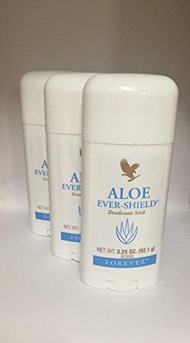 3 Aloe Ever-Shield a' 92,1g – Deodorant Stick - Forever Living – FLP-Original