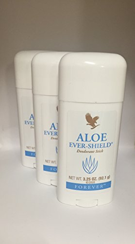 3 Aloe Ever-Shield a' 92,1g – Deodorant Stick - Forever Living – FLP-Original