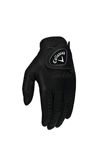 Callaway Damen Golfhandschuh OptiColor, Leder, Damen, Handschuhe, Opti-Colour, schwarz, Large