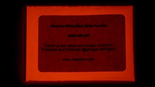 Art 'N Glow Glühen im Dunklen Pigment-Puder - 60 g (2 Unzen) - 10 + Farben erhältlich neutral Red
