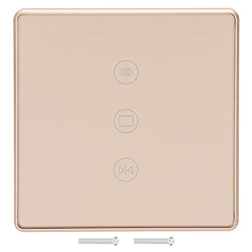 Smart Touch Switch 95‑240VAC Smart Life Interruptor de luz inteligente 600W Wifi Touch Wall Light 3 pandillas Interruptor de control remoto con marco de metal