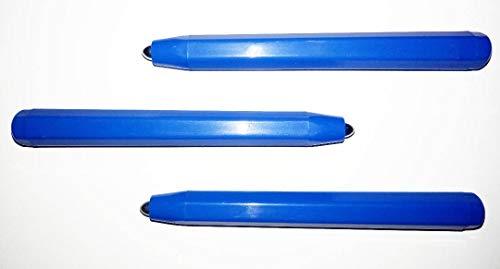 Beleduc 3er Set Ersatzstift blau für magnetische Zeichentafeln - Zaubertafel mit Kugeln, Magnetboard, Magnetspiel