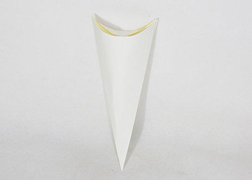 10Etui Cone transparent-Reis Bianco