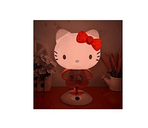 Nachtlicht, Hello Kitty Nachttischlampe, warme Tischlampe@A1