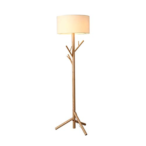 Floor Lamp-Kapstok Verticale Lamp-LED bank in de woonkamer Leeslamp Slaapkamers Cloakroom Lighting Lamp-huis Modern Staande Lamp (Color : Khaki, Size : 50cm*180cm)