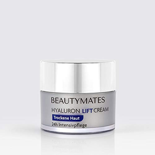 NEU! BEAUTYMATES Hyaluron Lift Cream 24h Gesichtspflege für reife & trockene Haut - 50ml - vegan & hochkonzentriert